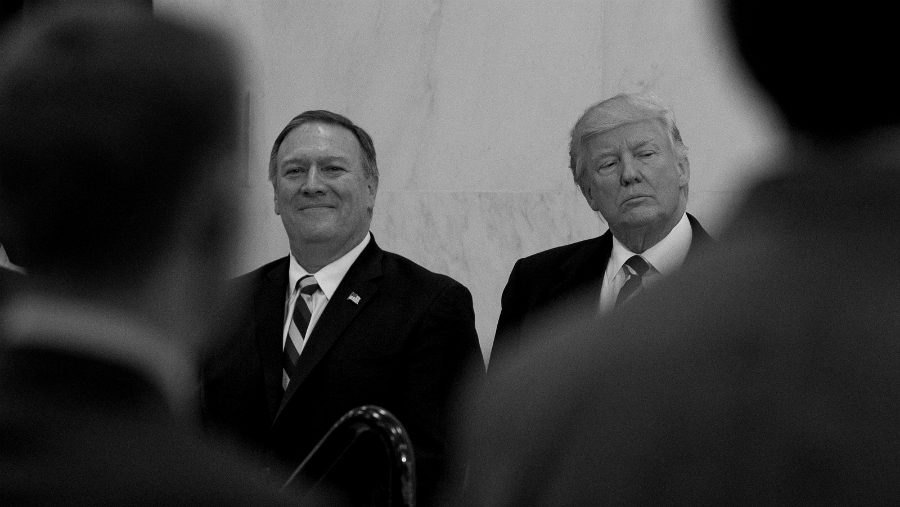 Estados Unidos Mike Pompeo Donald Trump la-tinta