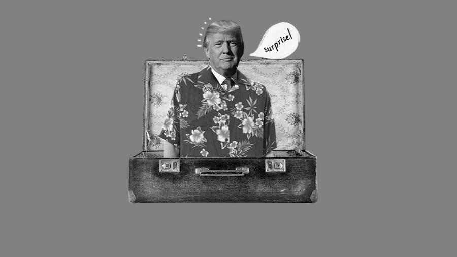 Estados Unidos Trump Caribe la-tinta