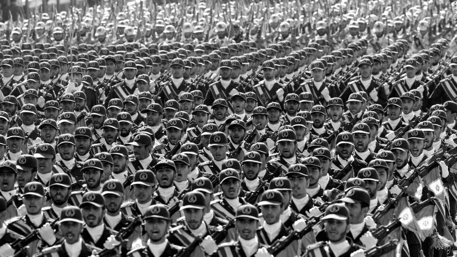 Iran Guardia Revolucionaria la-tinta