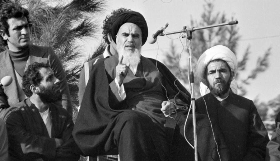 Iran ayatola Jomeini la-tinta