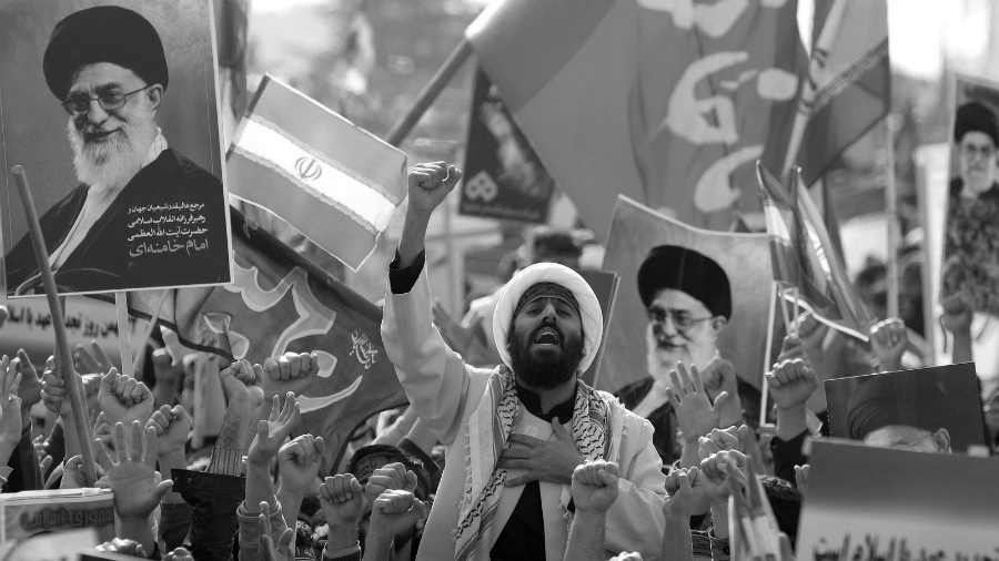 Iran movilizacion Revolucion Islamica la-tinta