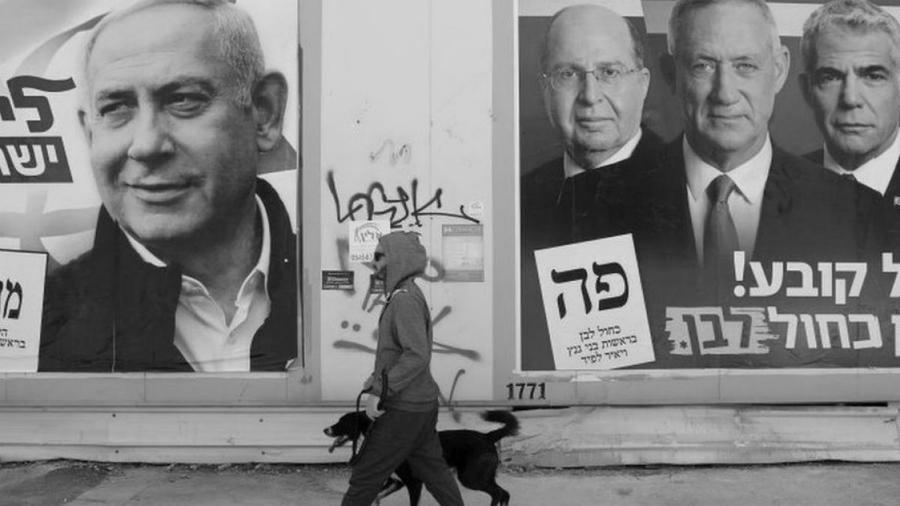 Israel campaña electoral la-tinta
