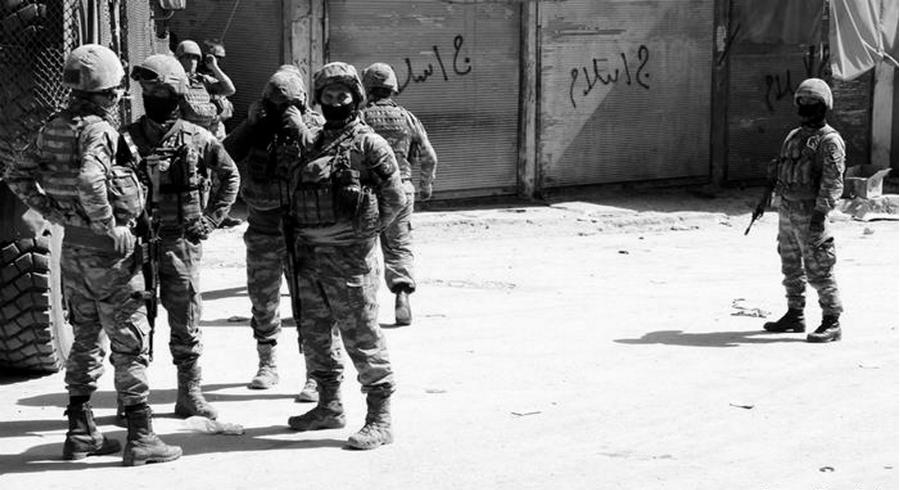 Kurdistan Afrin soldados turcos la-tinta