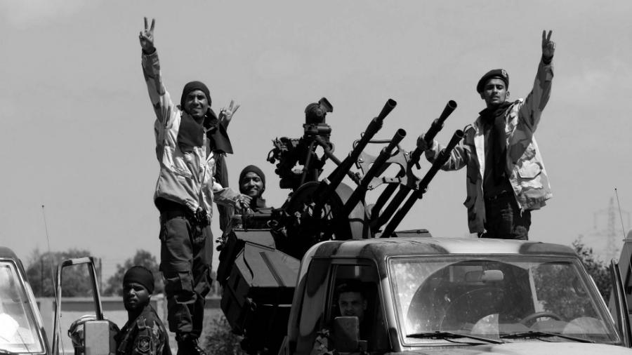 Libia avance tropas Tripoli la-tinta