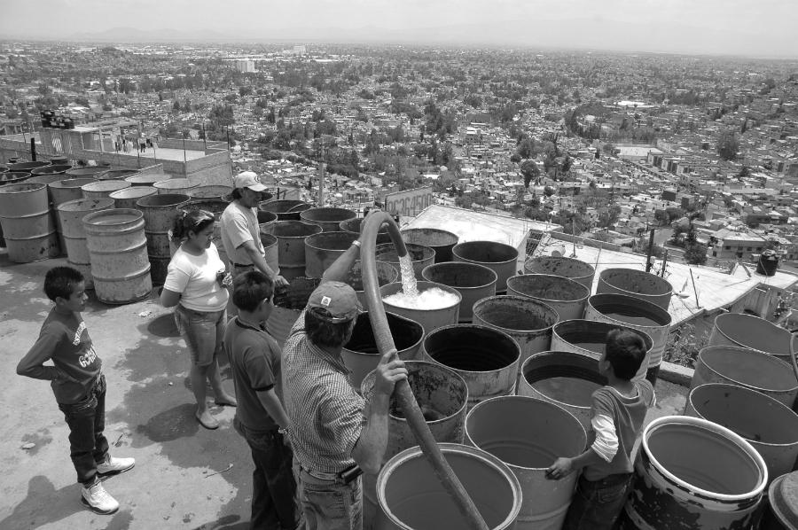 Mexico desabastecimiento de agua la-tinta