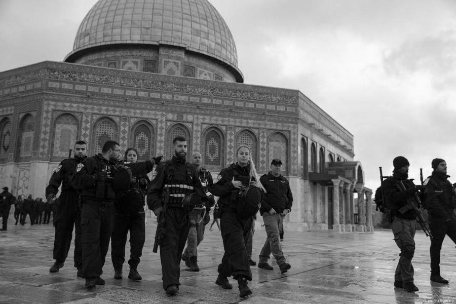 Palestina mezquita Al Aqsa militares israelies la-tinta