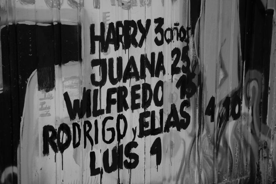 Pasaron 13 años desde y no están Son Wilfredo, 15 años; Juana, 25; Rodrigo, 4; Harry, 3; Elías, 10 y Luis, 4