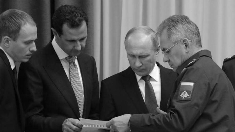 Siria Bashar al Asad Vladimir Putin la-tinta