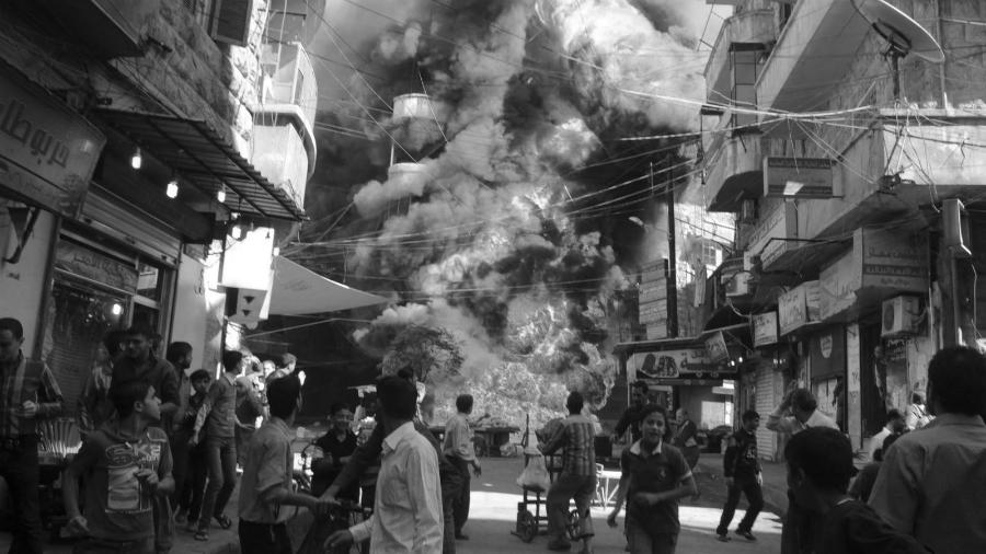 Siria guerra atentado la-tinta