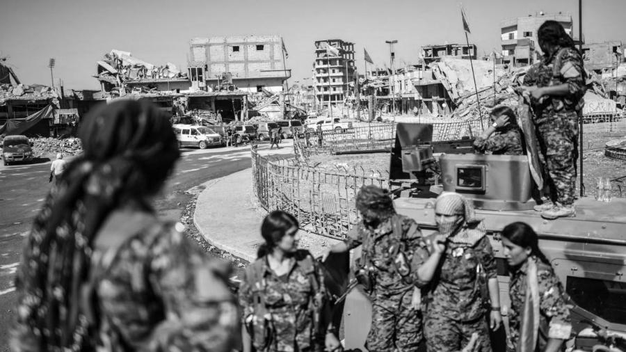 Siria liberacion Raqqa la-tinta