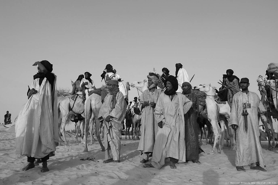 Tuaregs pueblo Libia la-tinta