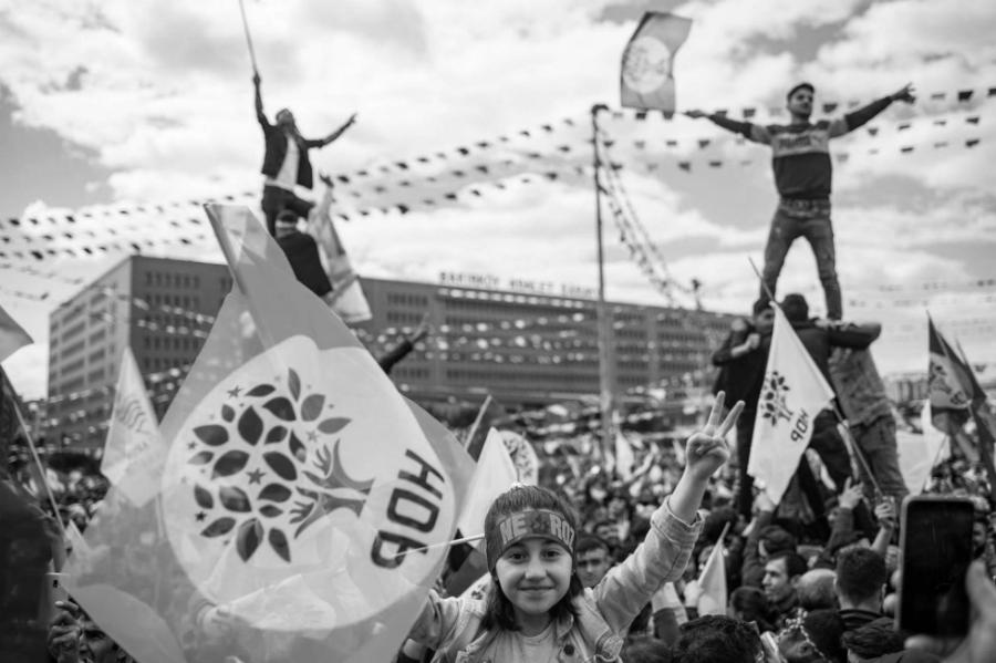 Turquia HDP acto campaña electoral la-tinta