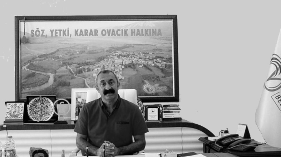 Turquia Ovacik alcalde la-tinta