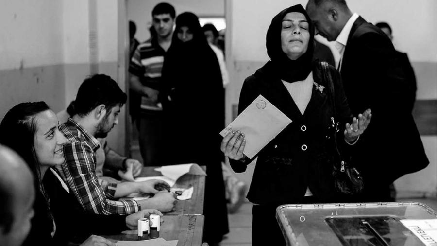 Turquia centros de votaciones la-tinta