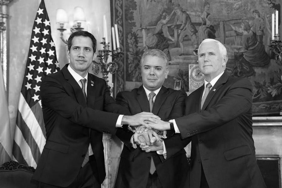 Venezuela Guaido Duque Pence la-tinta