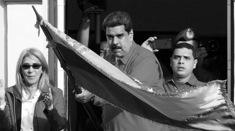 Venezuela Nicolas Maduro Palacio Miraflores la-tinta