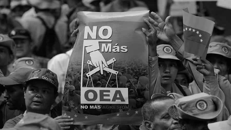Venezuela milicia bolivariana OEA la-tinta