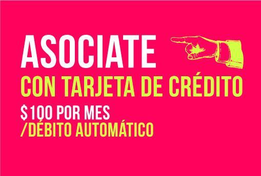 Asociate, tarjeta de crédito | La tinta