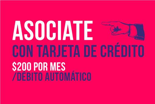 Asociate, tarjeta de crédito 200 | La tinta