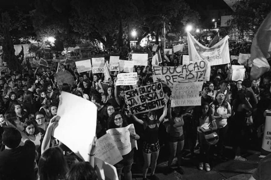 Brasil estudiantes movilizados la-tinta