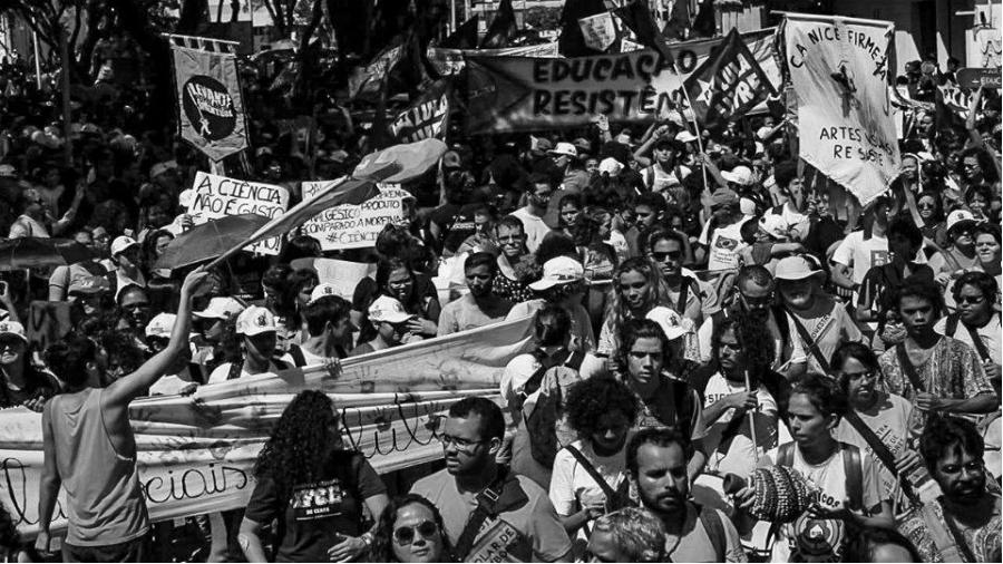 Brasil marcha por la educacion la-tinta