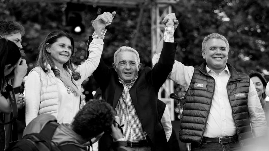 Colombia Uribe Velez Ivan Duque la-tinta
