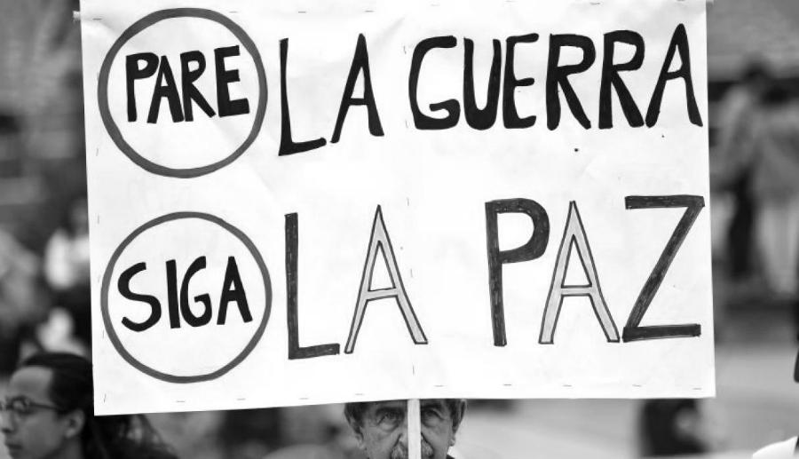 Colombia si a la paz la-tinta