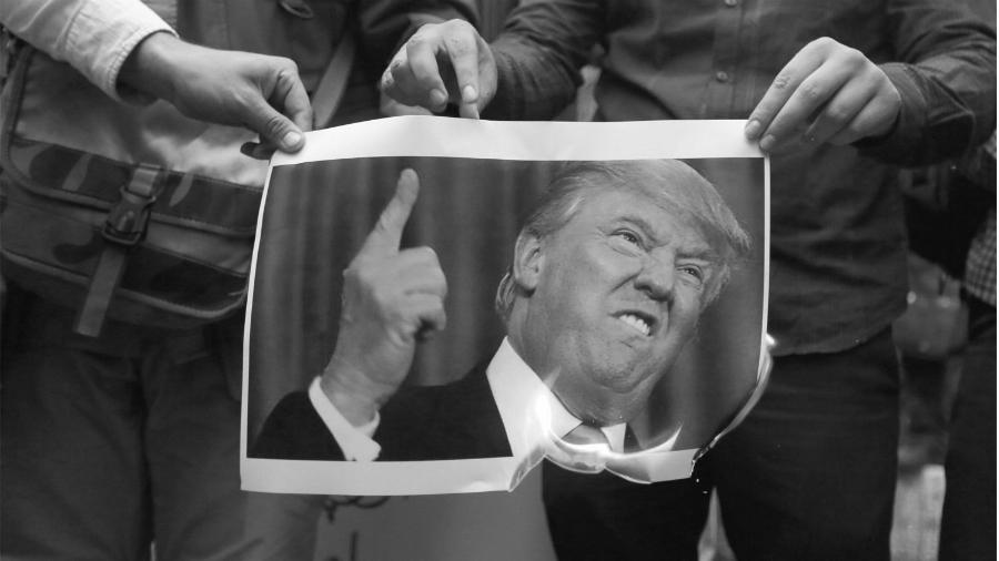 Estados Unidos Trump Iran la-tinta