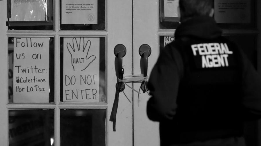 Estados Unidos embajada venezolana policia la-tinta