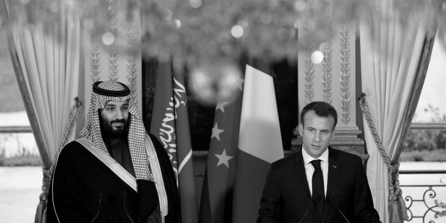 Francia Macron Bin Salman la-tinta