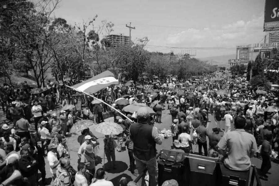 Honduras movilizaciones contra el gobierno la-tinta