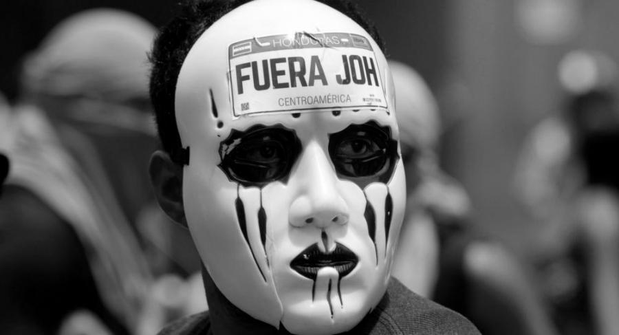 Honduras protestas la-tinta