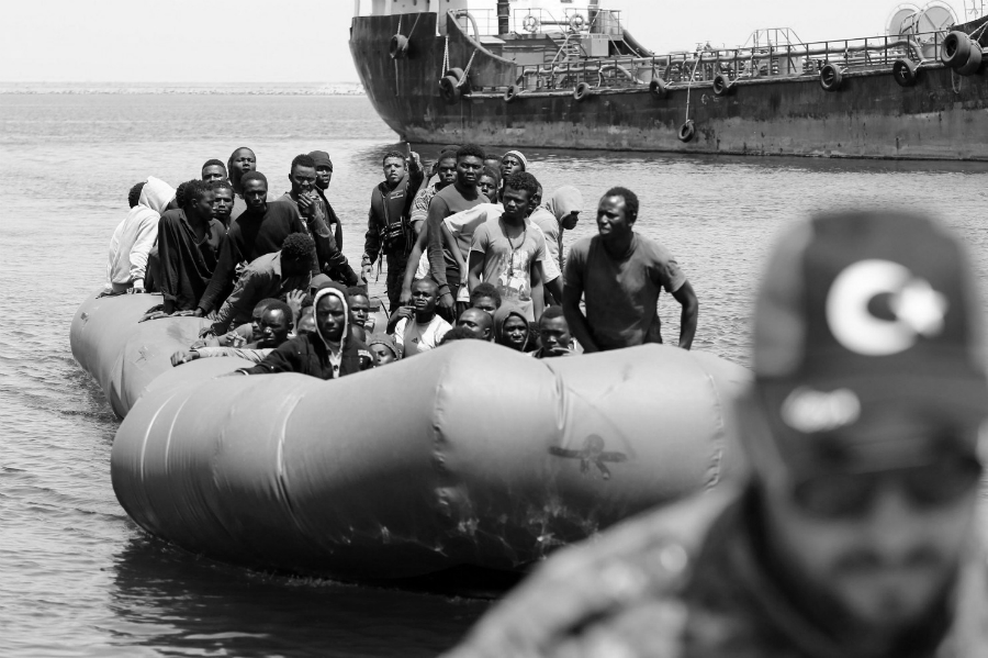 Italia migrantes libios la-tinta