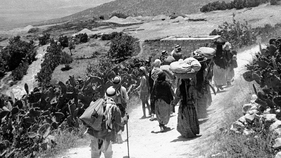 Palestina Nakba la-tinta