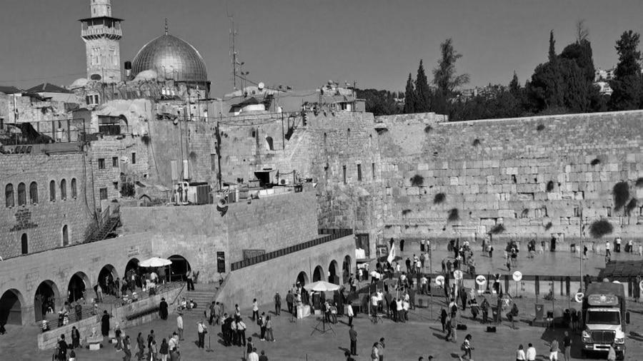 Palestina muro de los lamentos mezquita al aqsa la-tinta
