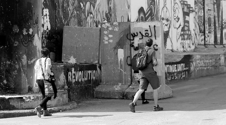 Palestina ocupada turistas israelies la-tinta