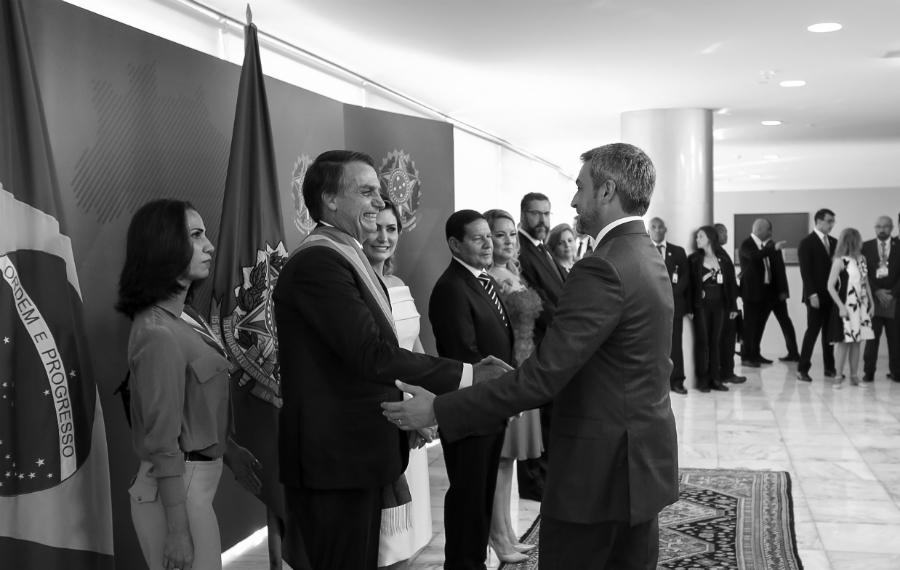 Paraguay Mario Abdo Jair Bolsonaro la-tinta