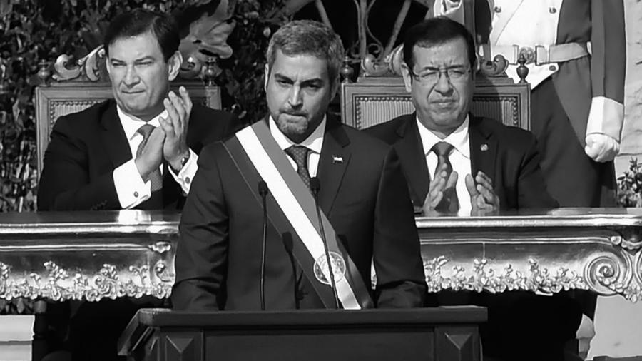 Paraguay Mario Abdo presidente la-tinta