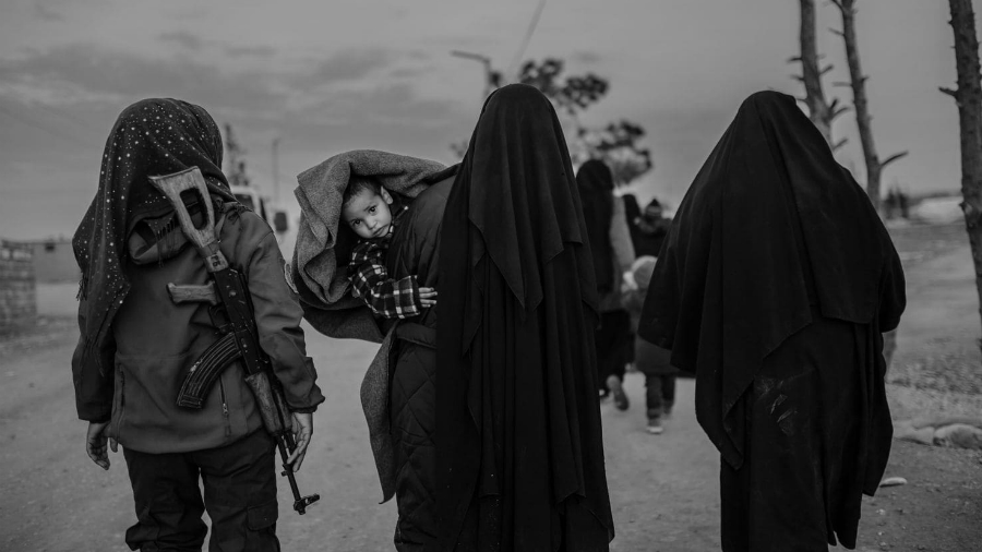 Siria Al Hol refugiadas y niños la-tinta