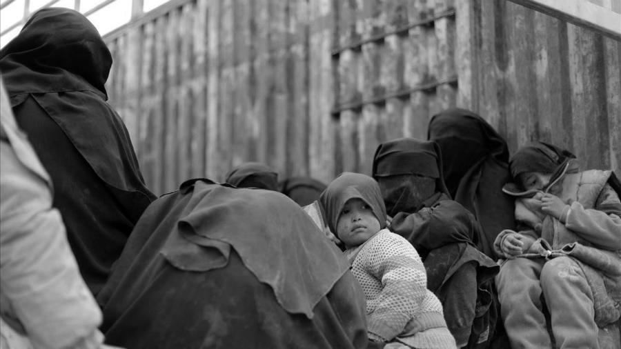 Siria Refugiadas Baghouz