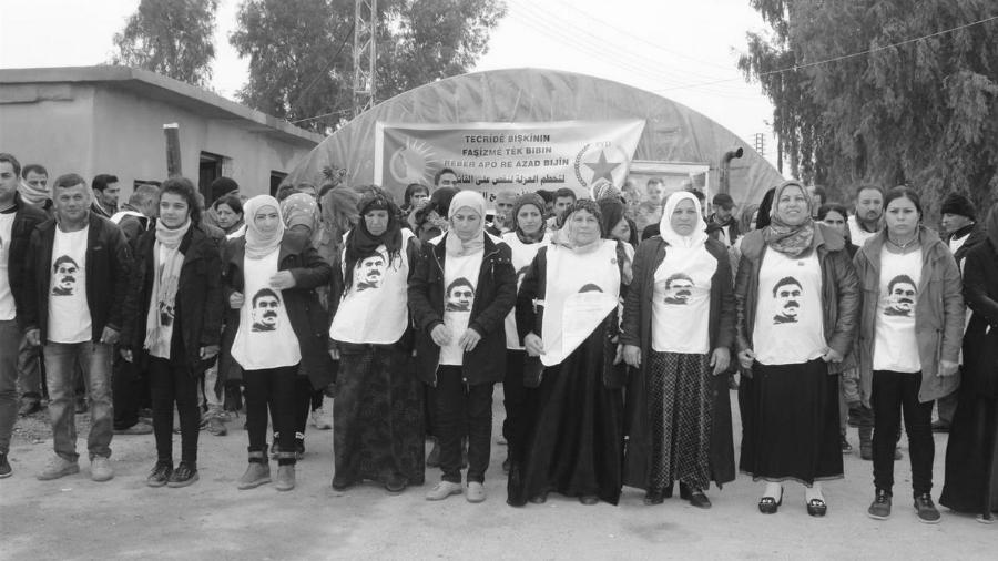 Siria huelguistas de hambre Ocalan la-tinta