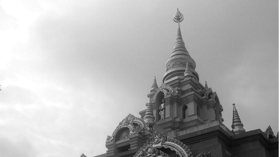Tailandia Mao Salong templo la-tinta