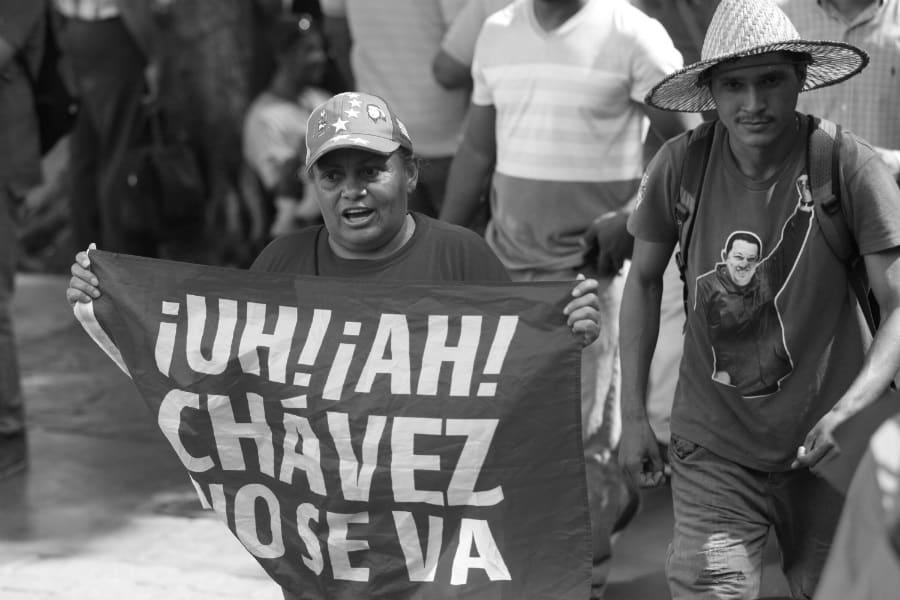 Venezuela Chavez no se va la-tinta
