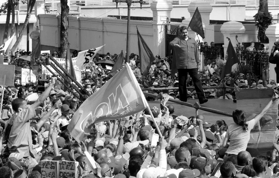 Venezuela Nicolas Maduro Miraflores la-tinta