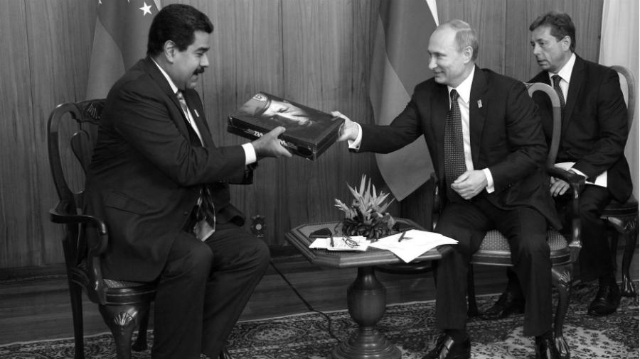 Venezuela Rusia Maduro Putin la-tinta