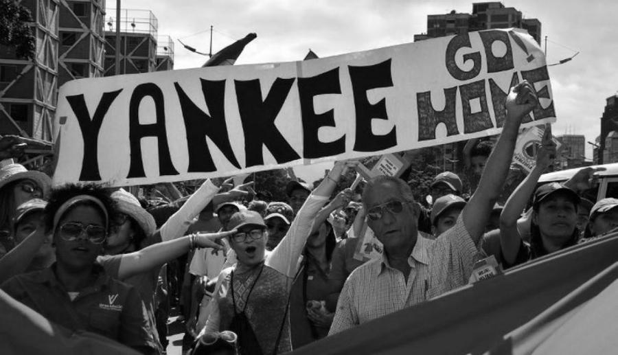 Venezuela chavismo movilizado contra EEUU la-tinta