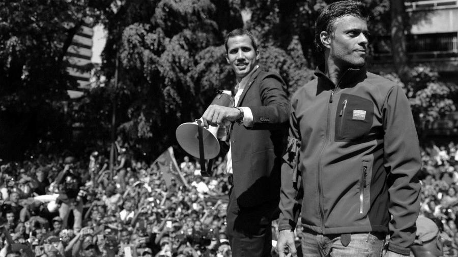 Venezuela golpistas Lopez y Guaido la-tinta