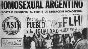 """""""Éramos 15 mariquitas locas que aparecimos en la Plaza de Mayo"""""""