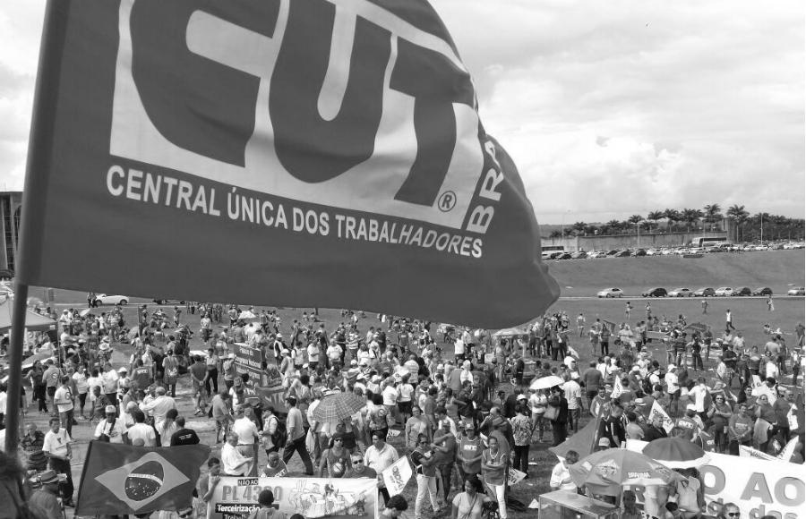 Brasil Central Unica de Trabajadores la-tinta