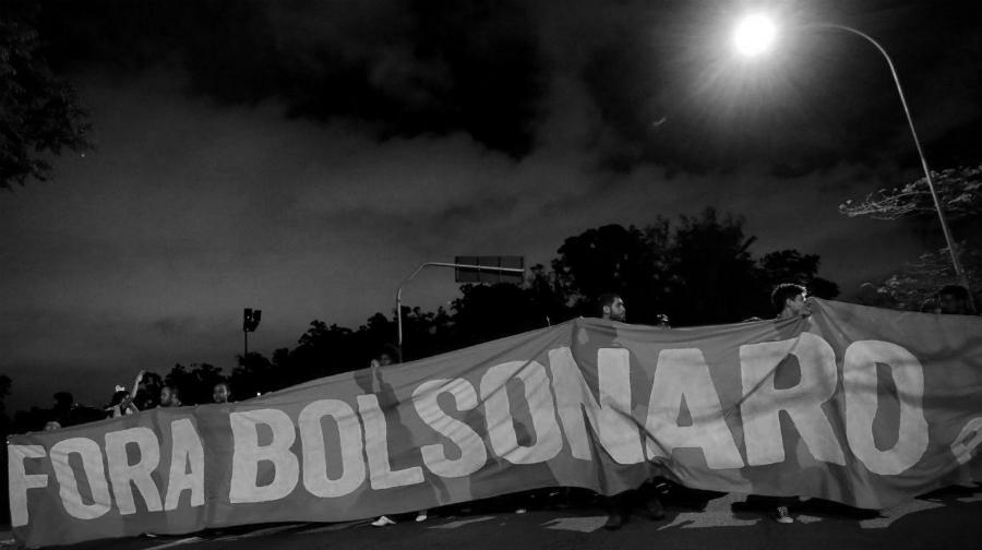 Brasil Fora Bolsonaro la-tinta